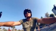 Anno: 2015      Chef Pascucci di Fiumicino (Ristorante Pascucci al Porticciolo, 1 stella Michelin) a bordo di una Ducati Monster si racconta. Una nuova puntata della serie 2015 di Rimini Street Foo.