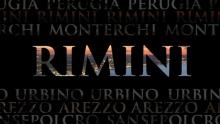 Anno: 2015      Terre di Piero: Rimini.       Il maestro Piero Della Francesca unisce quattro regioni e sei comuni per un progetto turistico che parte dall'arte e arriva al cibo, allo sport e al divertimento. Questo il video che presenta la città di Rimini.